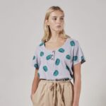 Tomatoes Buttoned T-shirt