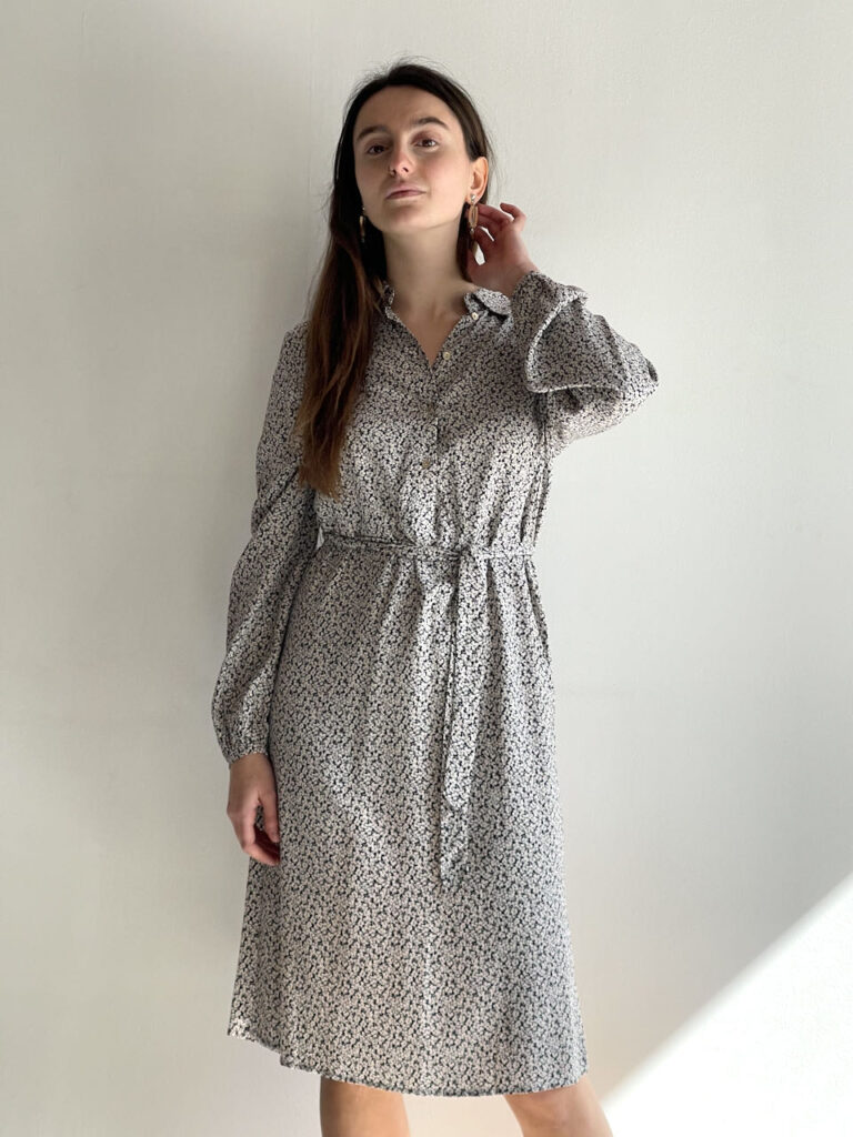 floral dress vila clothes amma bilbao